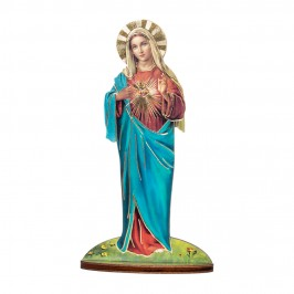 Statua Sagomata Sacro Cuore di Maria