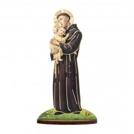 Statuetta Sant' Antonio con Biografia