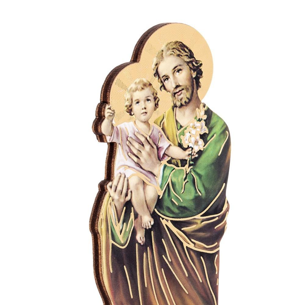 Statuetta San Giuseppe con Biografia