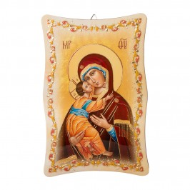 Quadro Sagomato Madonna con Bambino