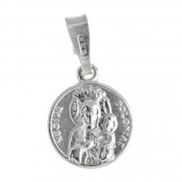 Medaglia Papa Giovanni Paolo II e Madonna Czestochowa