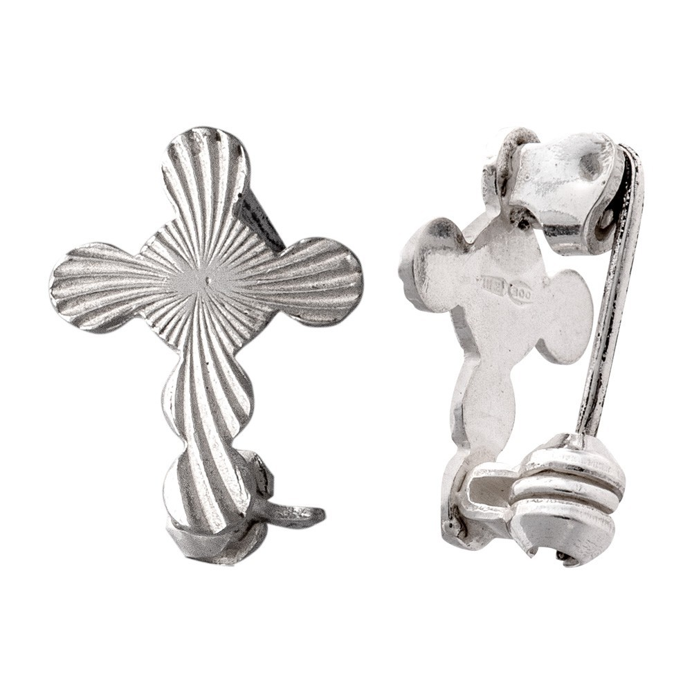 Croce Clergyman in Argento