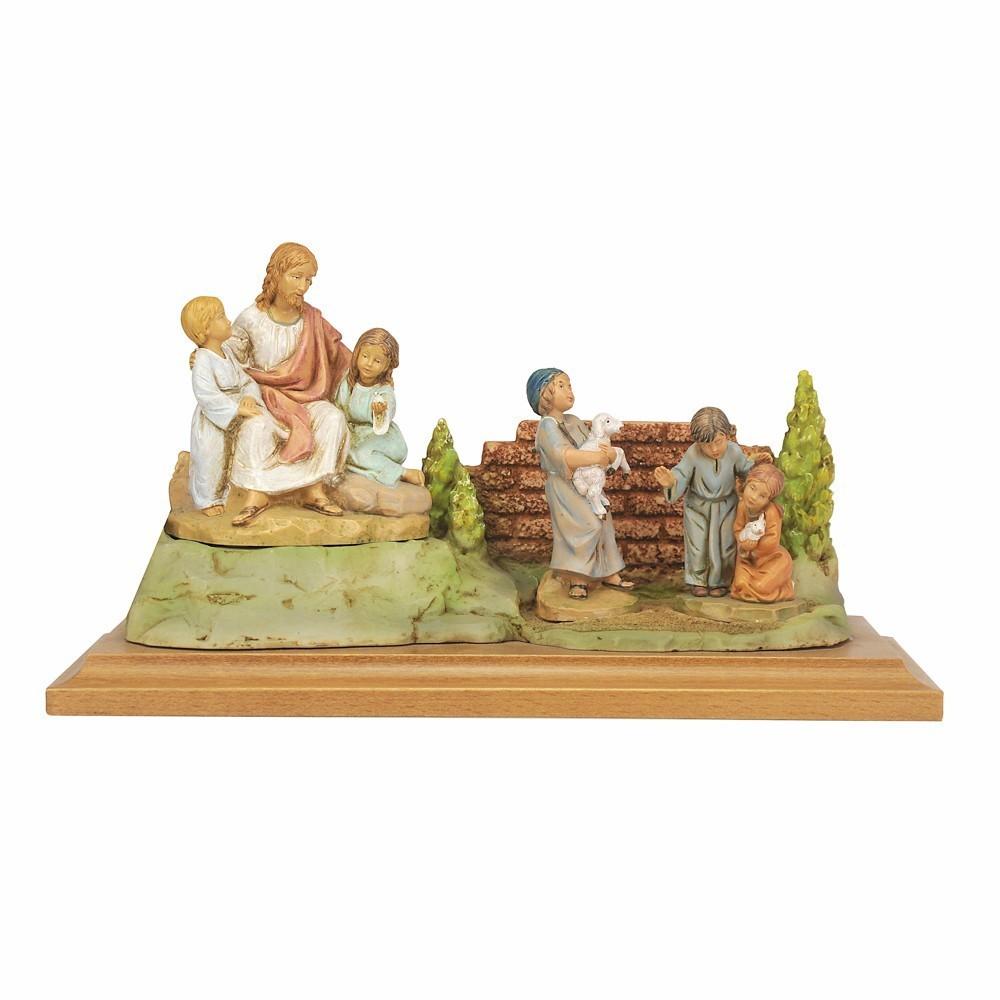 Gesù con Bambini Fontanini 12 cm