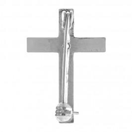 Croce Spilla Clergyman in Argento