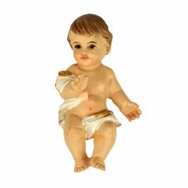 Bambino Gesù su Base in Legno