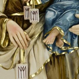 Madonna del Carmine resina cm. 60