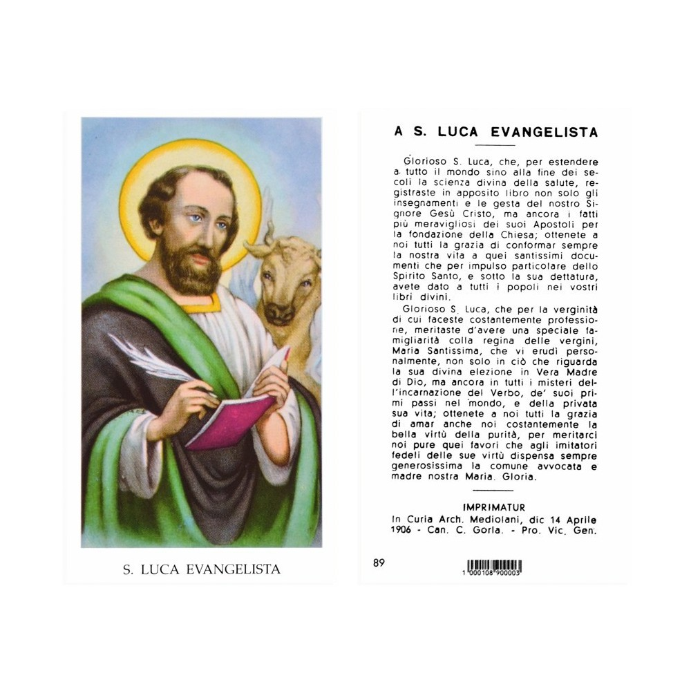 Santino S. Luca Evangelista