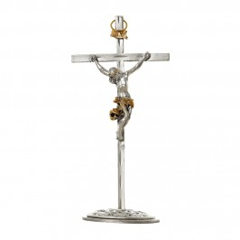 Croce con Base in Metallo