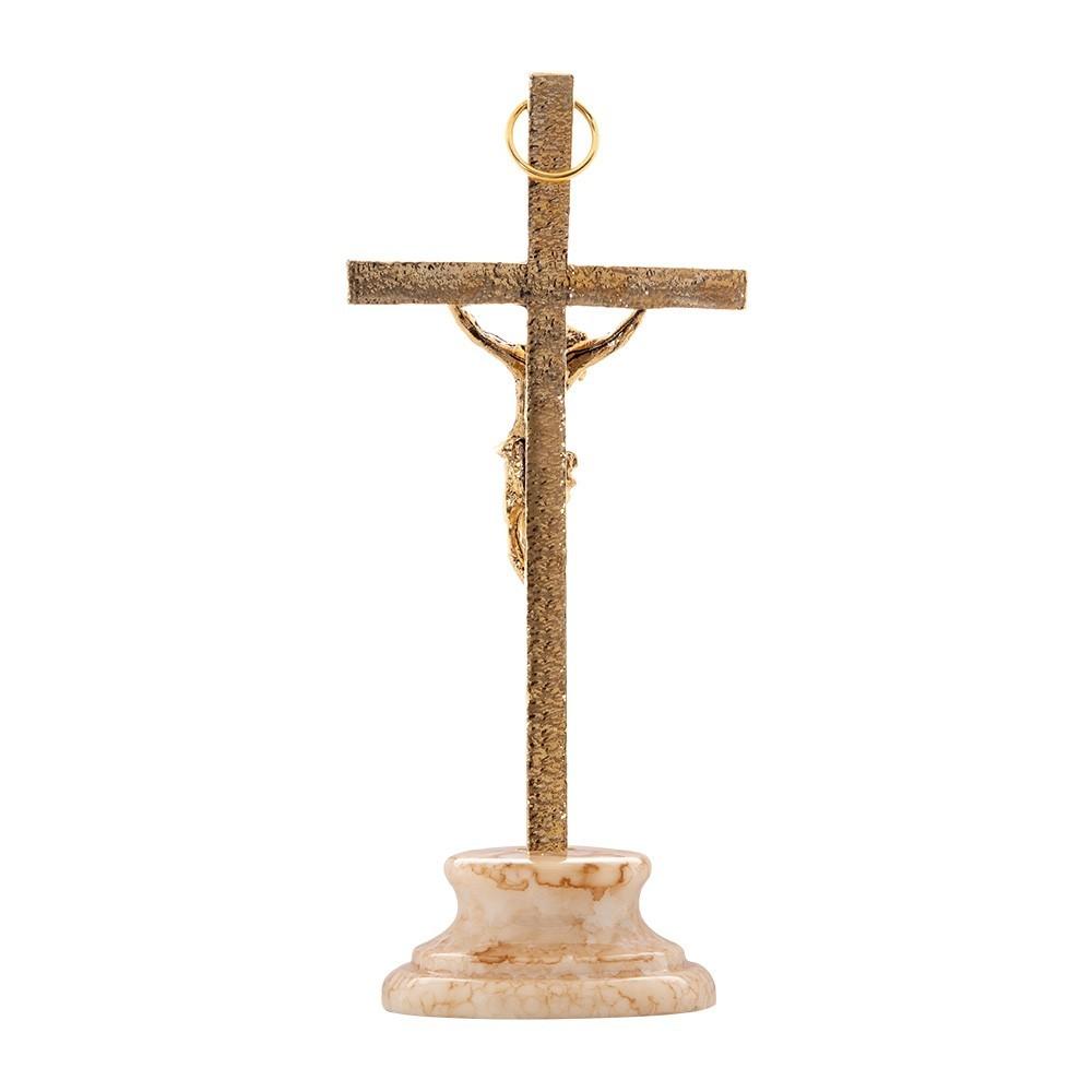 Croce con Base in Resina Removibile