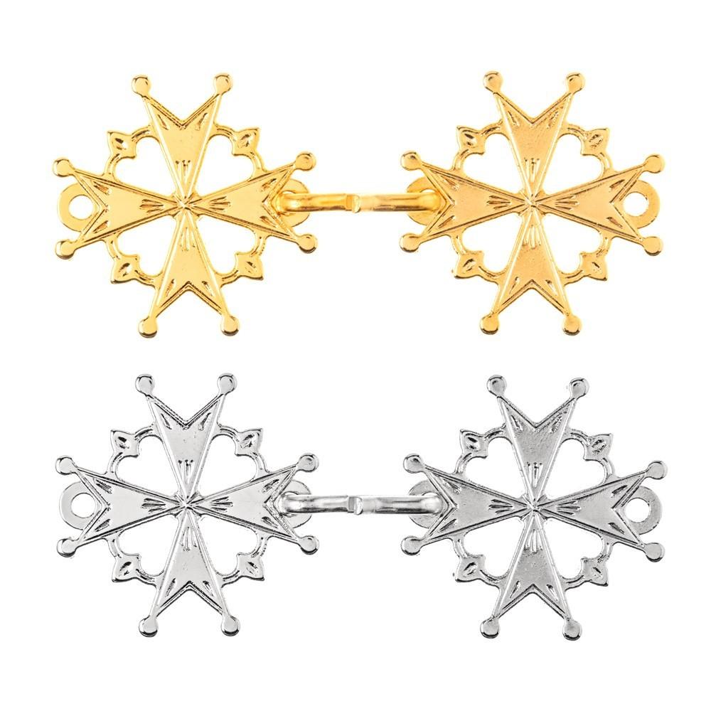 Gancio Piviale in Metallo con Croce