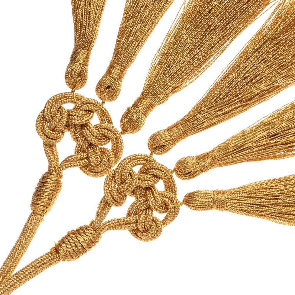 Cordone Oro Tre Fiocchetti