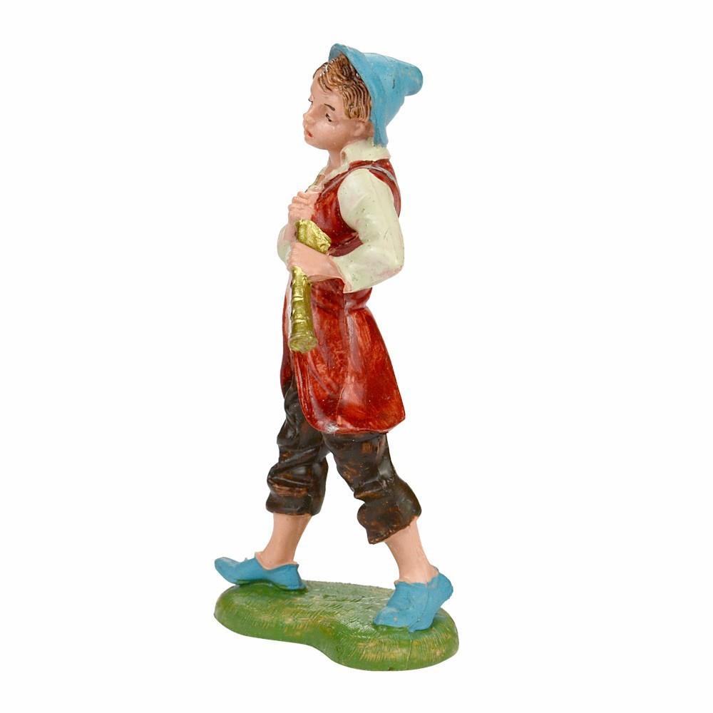 Statua Pifferaio Fontanini cm 10