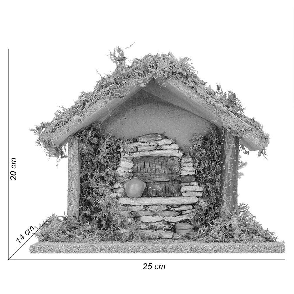 Capanna per Presepi 9,5 cm