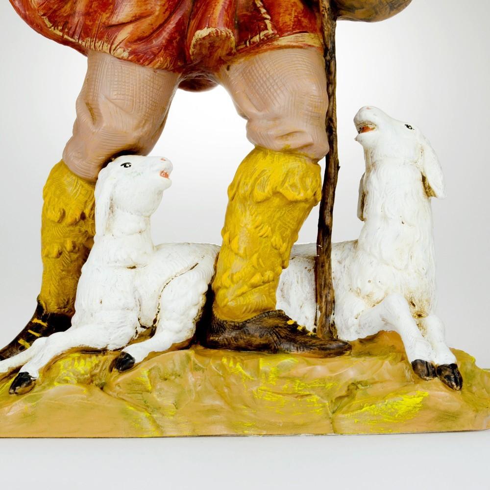 Pastore con Bastone e Pecore Fontanini cm 30