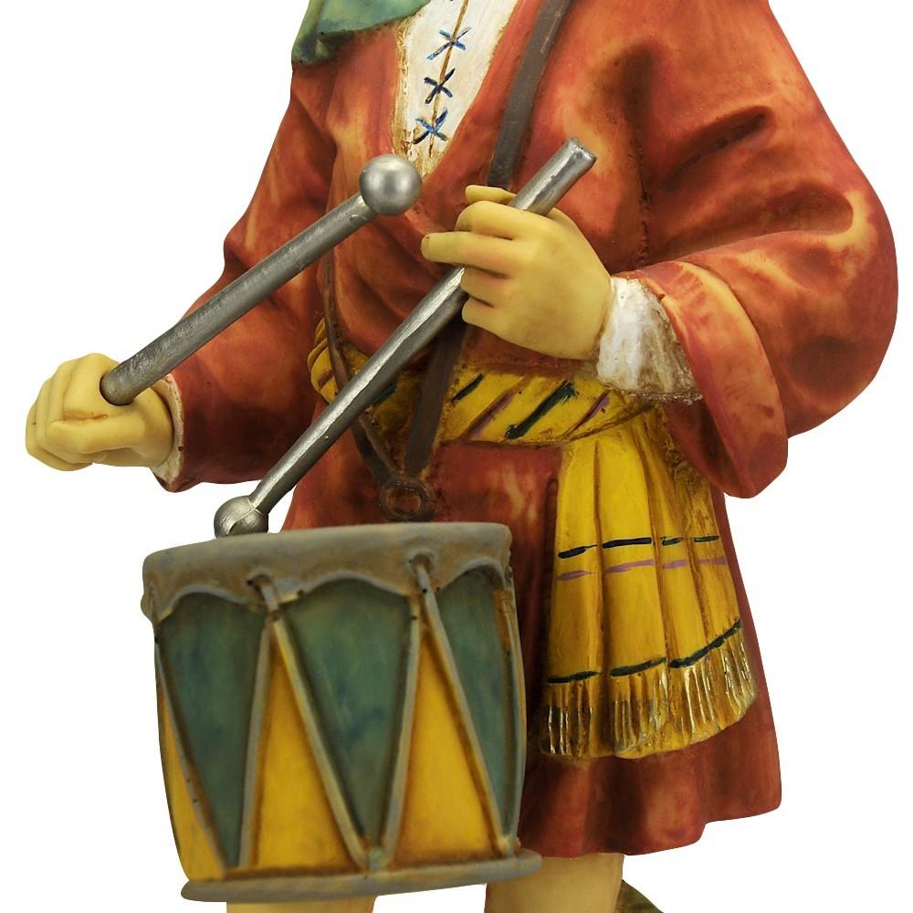 Pastorello con Tamburo Fontanini cm 52
