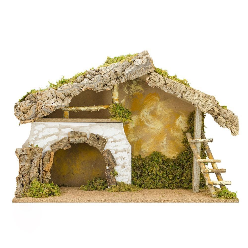 Capanna con Grotta per 17 cm