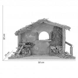 Capanna con Finestra per 19 cm