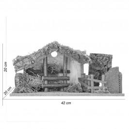 capanna con Luce per 10 cm