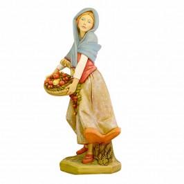 Donna con Cesto Fontanini cm 125