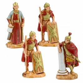 Re Erode con Soldati Romani Landi cm 3,5