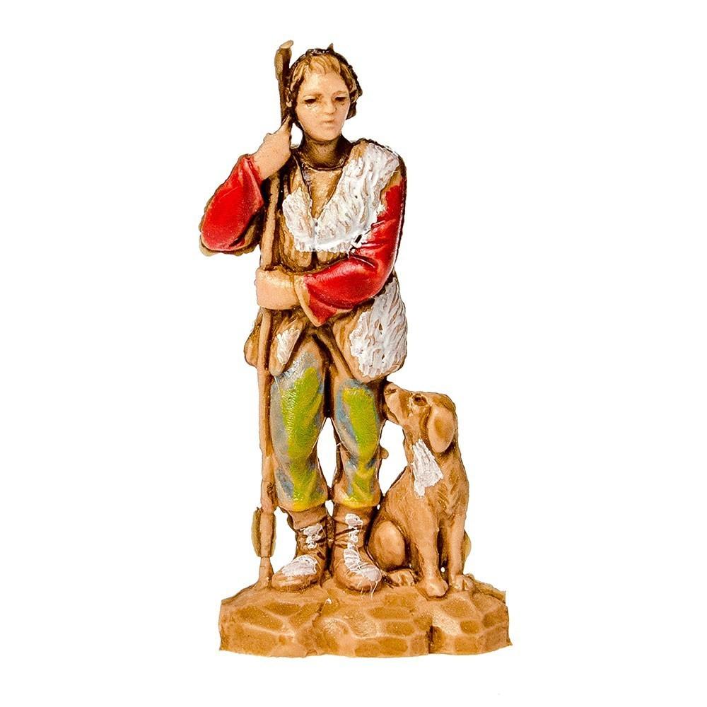 Pastore con Cane e Bastone