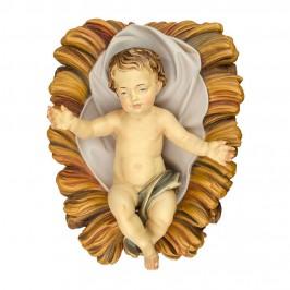 Gesù Bambino con Culla in Legno