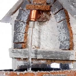 Fontana Elettrica con Casetta