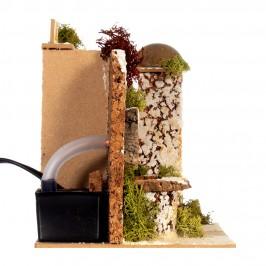 Fontana con Casetta in Stile Arabo