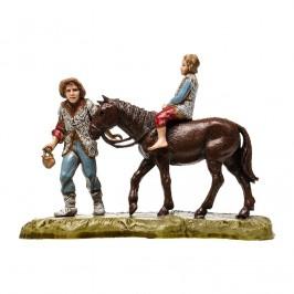 Pastore con Bimbo a Cavallo