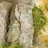 Capanna in Legno e Sughero per Natività 12 cm