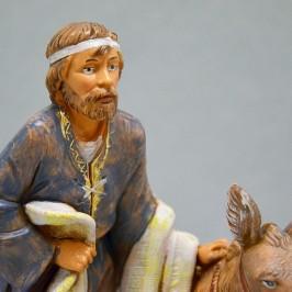 Pastore con Asino e Coperta