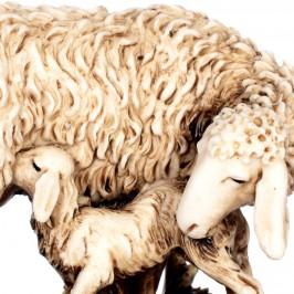 Pecora e Agnellino in Resina Landi