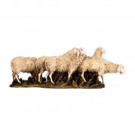 Gregge di Pecore per il Presepe 15 cm