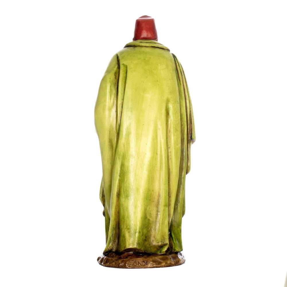 Re Magio Moro in Resina 15 cm
