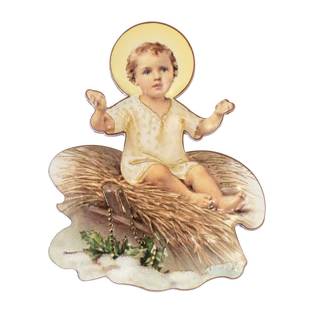 Magnete con Immagine di Gesù Bambino