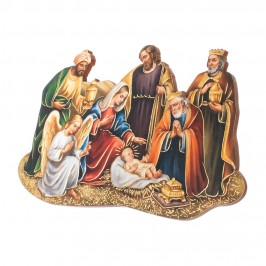 Quadretto Natività con i Re Magi