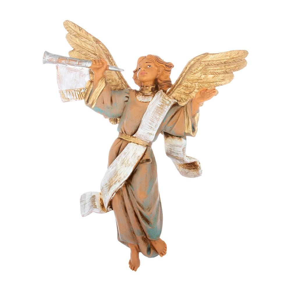 Coppia Angeli con Tromba Fontanini 12 cm