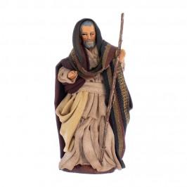 San Giuseppe Presepe in Terracotta