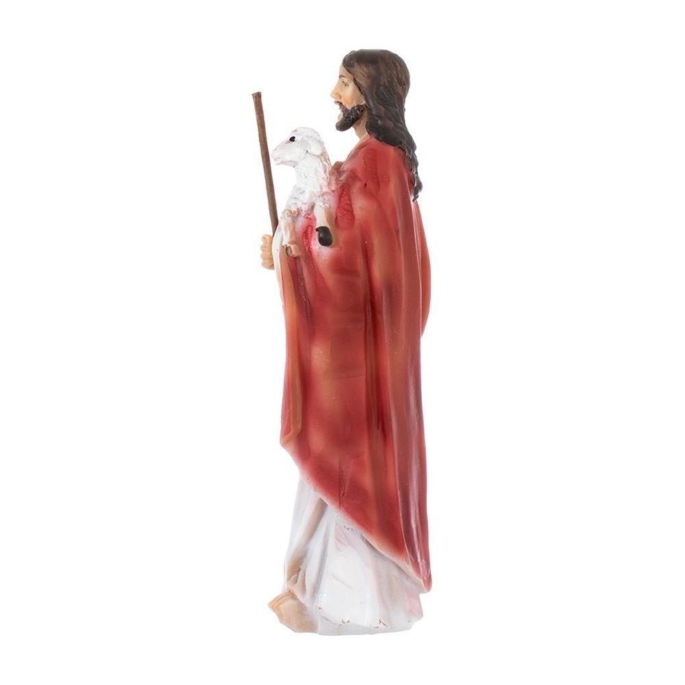 Statua Gesù Buon Pastore in Resina