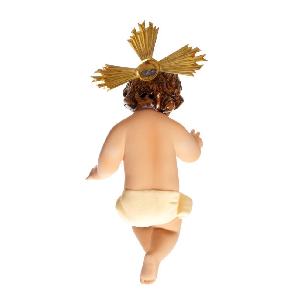 Gesù Bambino in Gesso h 25 cm