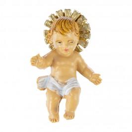 Gesù Bambino con Panno e Raggiera