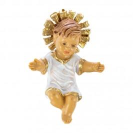 Gesù Bambino con Vesta Bianca e Raggiera