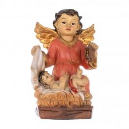 Statua Angelo Custode con Bambino