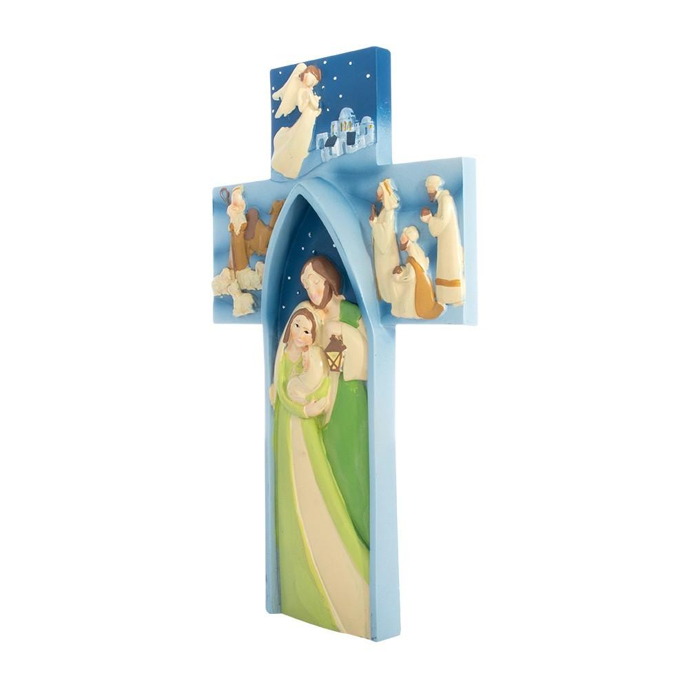 Croce Natalizia in Resina