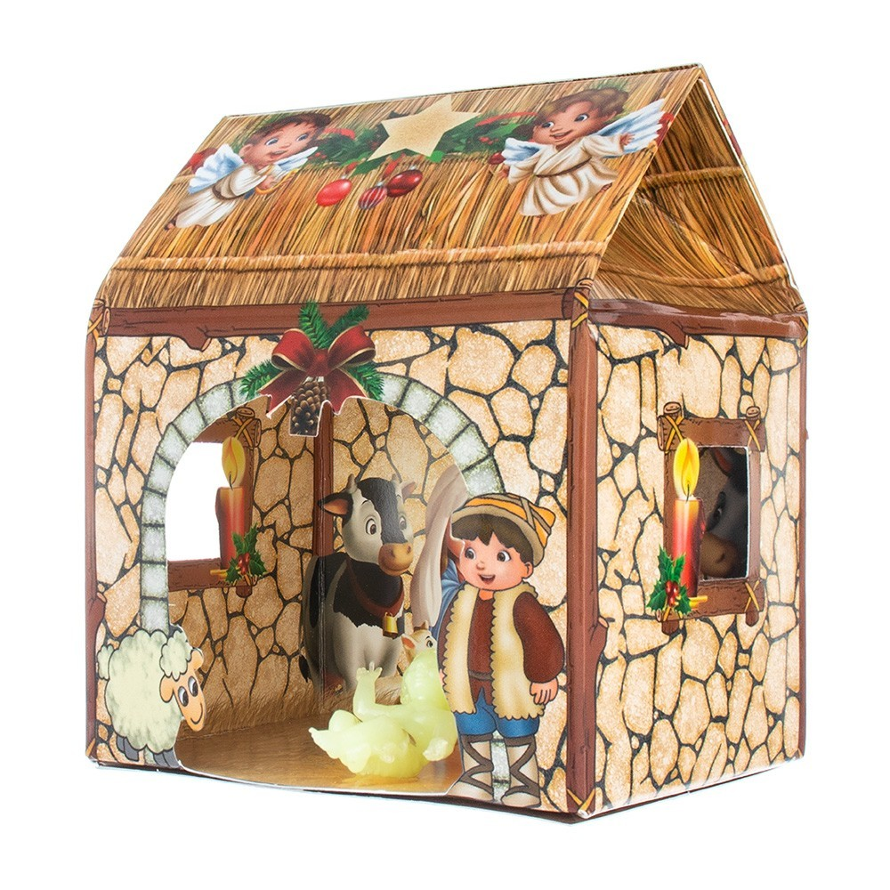 Confezione Natalizia con Gesù Bambino