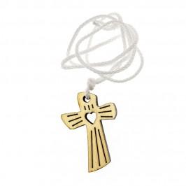 Croce in Legno Ricordo Prima Comunione e Confessione