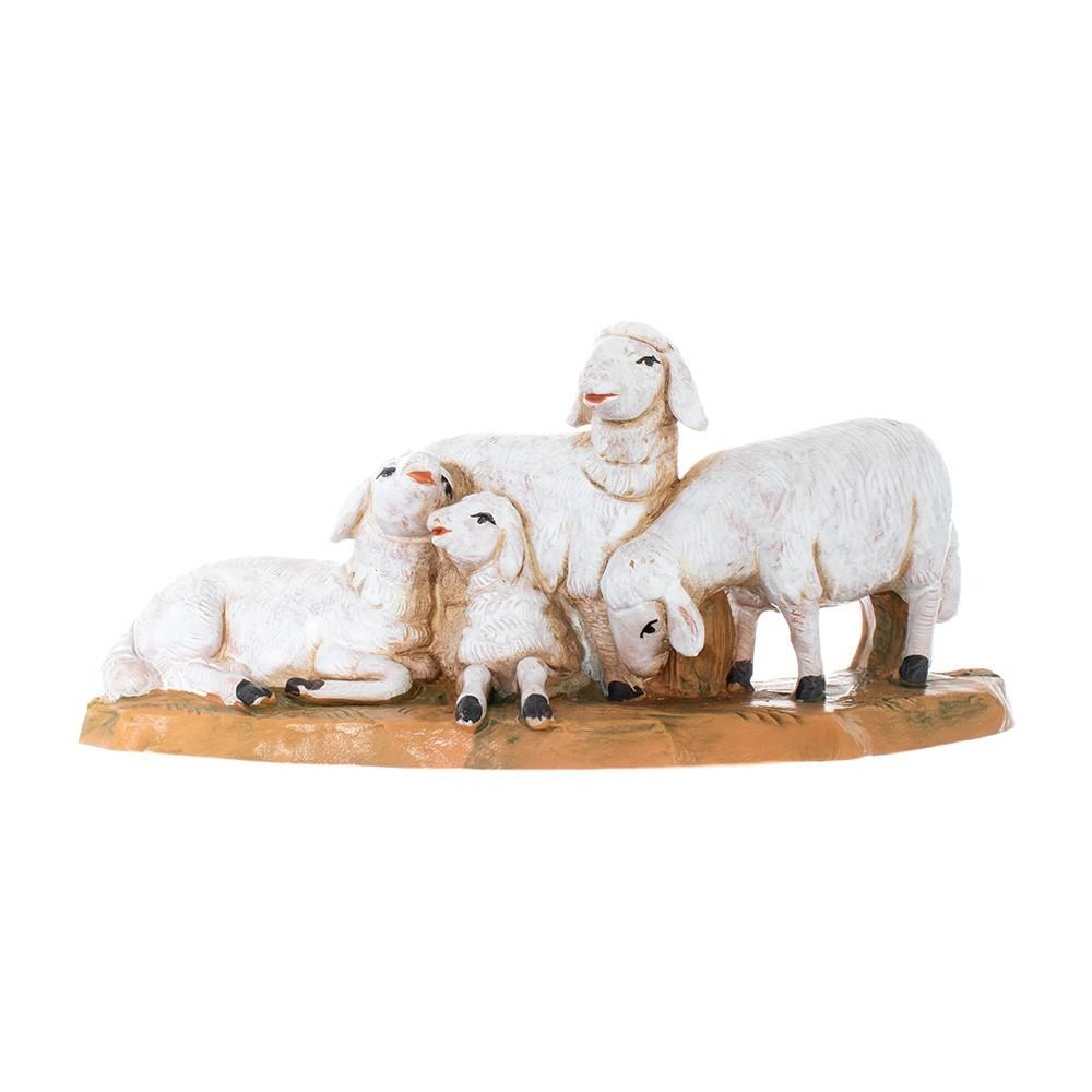Gregge di Pecore Fontanini 12 cm