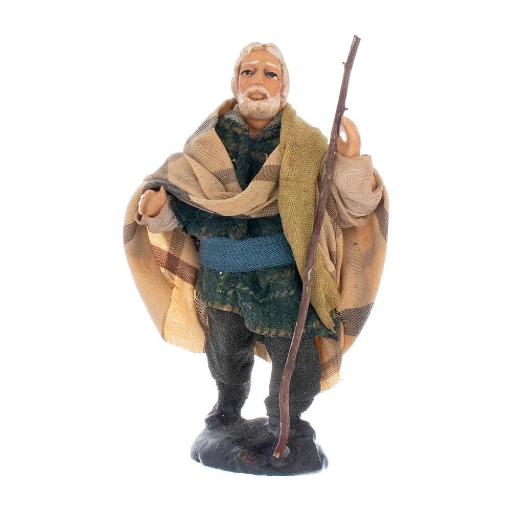 Pastore Anziano in  Terracotta 10 cm