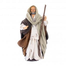 San Giuseppe in Terracotta 14 CM