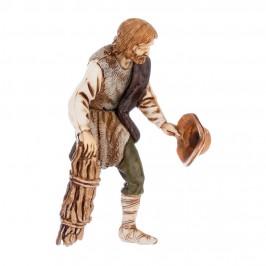 Pastore con Fascina di legno Moranduzzo